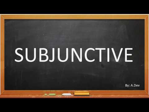 Materi SUBJUNCTIVE (Grammar) - Pembahasan Soal Tes Bahasa Inggris USM PKN STAN