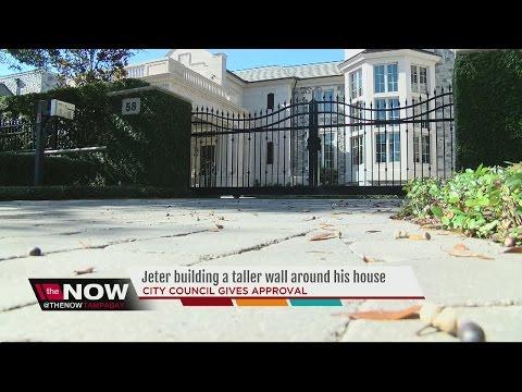 City approves taller gate at Derek Jeter's Davis Islands mansion