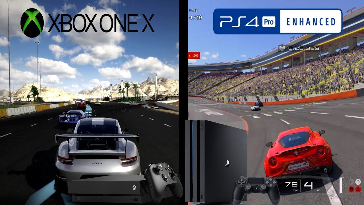Xbox One X Vs PS4 Pro: Game Graphics Comparison - YouTube Xbox One X Vs Ps4 Graphics