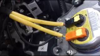 Как разобрать мультируль и снять SRS AIRbag на ПРАДО 120 (LEXUS GX-470)