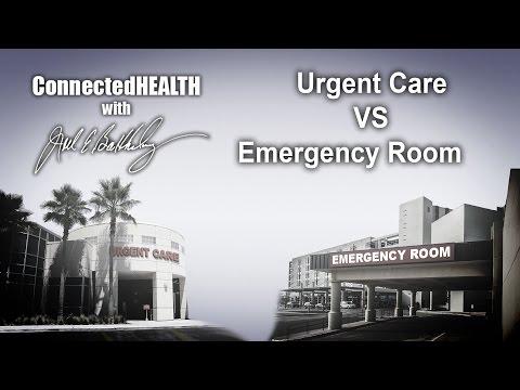 Episode 50: Urgent Care VS Emergency Room
