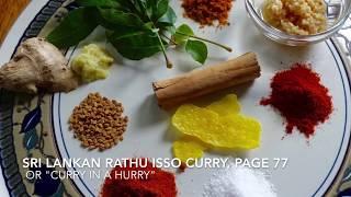 Rathu Isso Curry - Charaka Dharmagunaratne