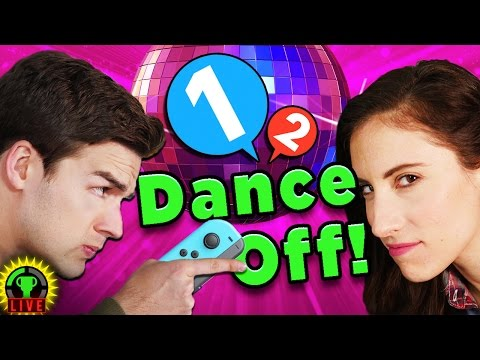 DANCE WITH ME DAMMIT! | 1 2 Switch Gameplay [Rematch!]