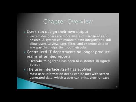Chapter 8 User Interface Design Part 1