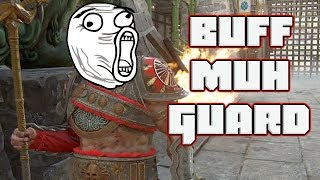 BUFF-MUH-GUARD | Gladiator Duels | For Honor