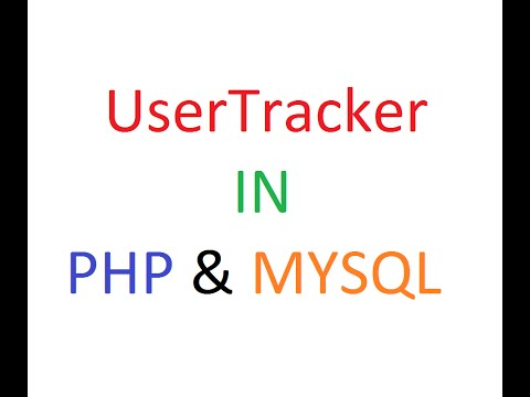 How to Write a Stats Tracker in PHP & MySQL