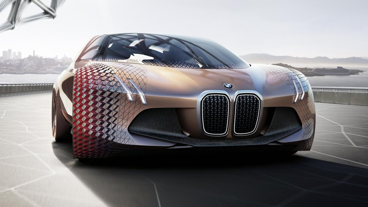 Bmw Vision Next 100 Concept 2016 Youtube