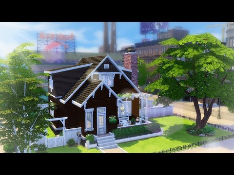 WATERSIDE FAMILY HOME // Limited DLC // The Sims 4 Speed Build