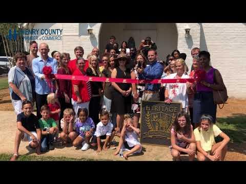 HCCC Ribbon Cutting for Heritage Montessori School