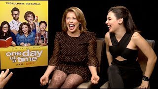 ONE DAY AT A TIME interviews - Isabella Gomez and Justina Machado