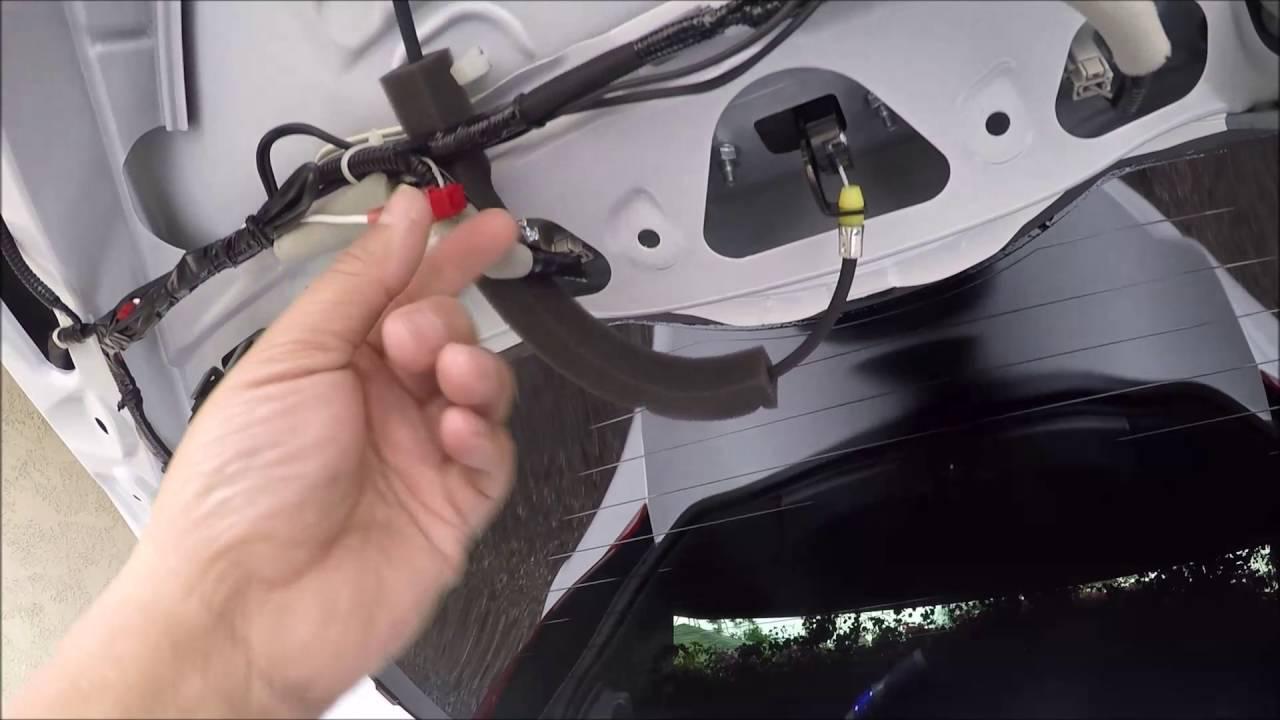 2015 2016 Honda Fit Led Pillar Tail Lights Installation