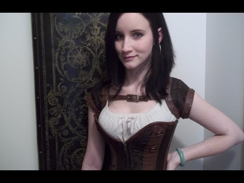866dd6e694 Steampunk Corset from Corset-Story! - YouTube