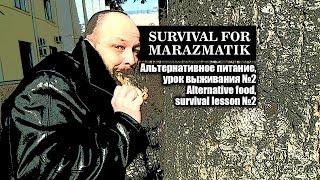 Альтернативное питание, урок выживания №2