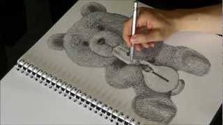 Drawing Ted - Ted Movie (2012) - Movie Drawings