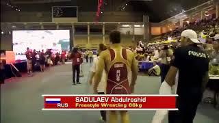 Самый лучший борецАбдулрашид Садулаев
