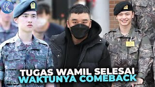 Bikin Fans Senang! Deretan Idol Kpop yang Sudah Selesaikan Wamil di Tahun 2021