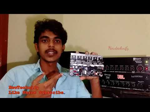 Amplifier Review: KA2611 Kumar Audios || 6 Transistor Mono || JBL