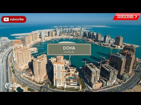 Doha Qatar:Sights from the Sky