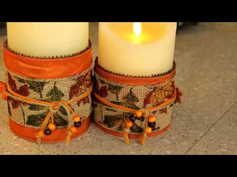Flameless LED Candle Handcrafted Products