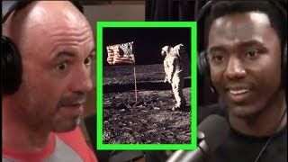 Jerrod Carmichael Doesn't Believe in the Moon Landing - Joe Rogan Experience