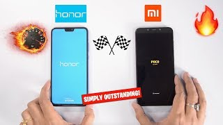 Honor 8X vs Poco F1 Speedtest Comparison & RAM Management [OUTSTANDING PERFORMANCE] 🔥