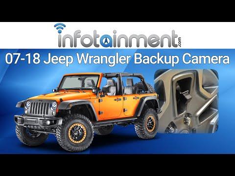 2011-2018 Jeep Wrangler JK Rear View Backup Camera – Easy Plug & Play DIY Install!