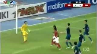 INDONESIA VS SINGAPORE : AFF Suzuki Cup 2012 Full Highlights