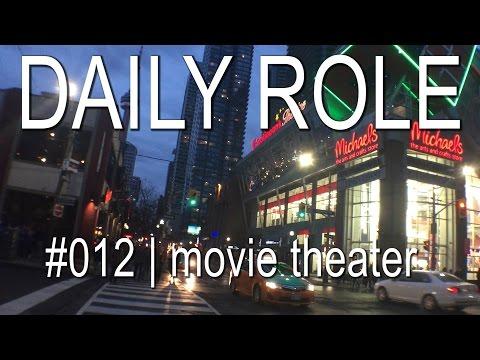 Daily Role #12   vamos ao cinema no canada?