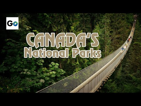 Canada's National Parks: British Columbia, Vancouver,  Capilano Suspension Bridge And Beyond