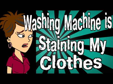 Why Is My Washing Machine Staining Clothes