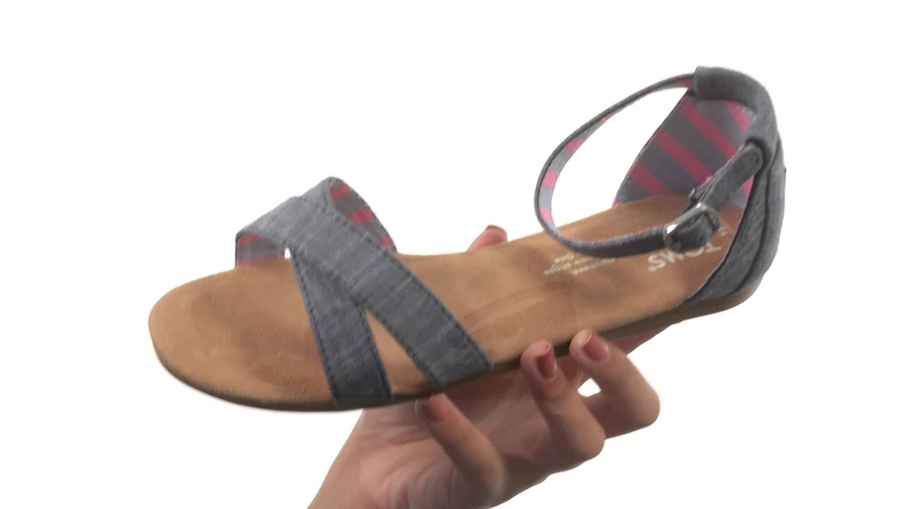 282fc83ec685 TOMS Kids Correa Sandal (Little Kid Big Kid) SKU 8653950 - YouTube