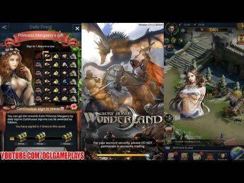 Glory Road: Wonderland Gameplay (Android iOS) - 동영상