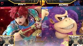 Marx (Roy) VS techy (Donkey Kong, Ice Climbers) WR1 Smash Knights Ultimate Singles #6