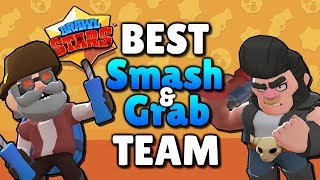 Best SMASH and GRAB Team in Brawl Stars! Best Brawler for Su0026G - Beginner Tips and Strategy 2018