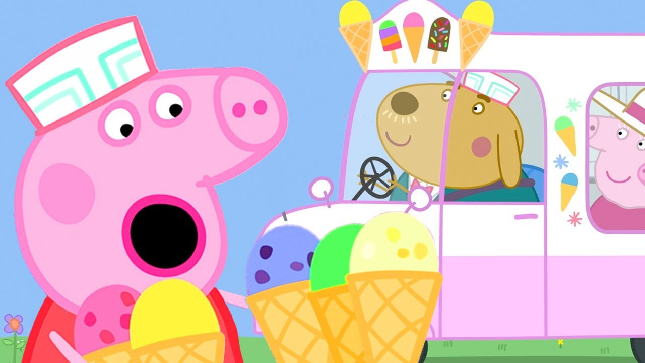 Download Peppa Pig Official Channel | Peppa Pig Runs a Ice Cream Van!
