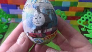 Томас і його друзі. Яйця з сюрпризом. #KinderLove #видеодлядетей