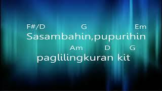 TAGALOG CHRISTIAN WORSHIP SONG-WALANG HANGGAN- Generation for Jesus worship (OFFICIAL LYRICS VIDEO)