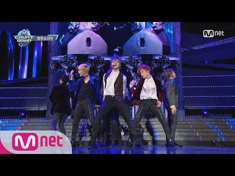 [BTS - Blood Sweat & Tears] KPOP TV Show | M COUNTDOWN 161027 EP.498