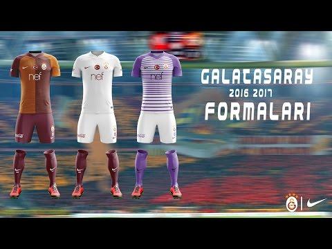 the best attitude f772e 60cb5 Speed Art Photoshop - Galatasaray 2016/17 Concept Kit Design ...