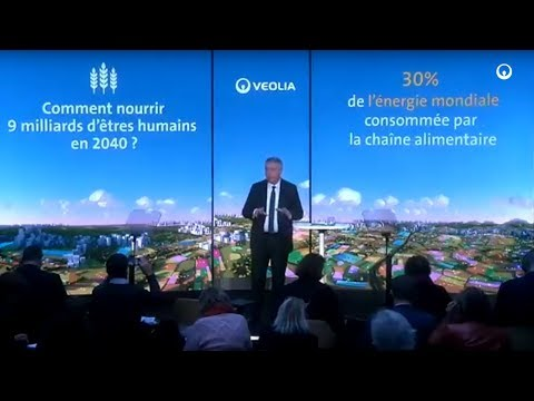 "Antoine Frérot presents "" The increase in the demand for food"" - Veolia"