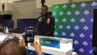 Deshaun Watson at the NFL combine