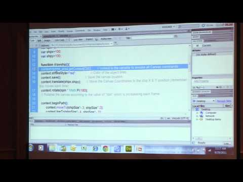 Canvas Element and HTML5 Games for Dummies: Intel AppUp Elements 2011