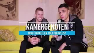 Kamergenoten: Wout Droste en Joey Pelupessy