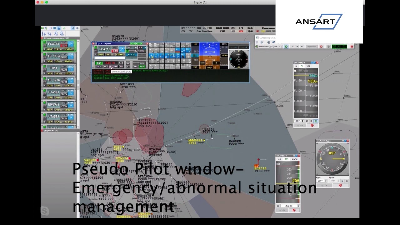 Download ATC SIM: Episode 19 Pseudo Pilot Window Transponder Management