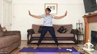 03.06.2020 - Hatha Yoga By Bhavnaben Jogi
