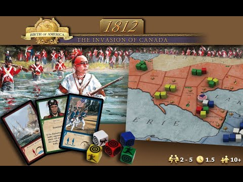 1812 The Invasion of Canada | Short Gameplay Preview |