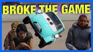 Forza Motorsport 7 Online : BROKE THE GAME!!