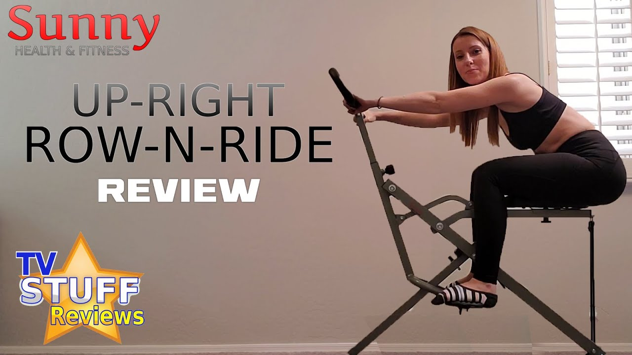 Sunny Health & Fitness: Squat Assist Row-N-Ride Trainer Review
