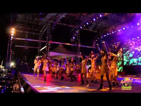 International Soca Monarch 2015 Finals Olatunji - Ola Firepower Fireworks