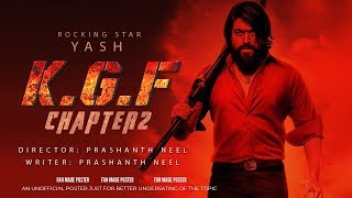 KGF 2 Movie 2019 | KGF Chapter 2 | Yash | Srinidhi Shetty | Prashanth Neel